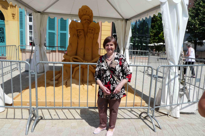 Tatjana - ein Urgestein der Vereinsarbeit in Kostjukovitschi