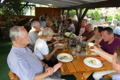 Gemeinsames Abendessen beim HSV in Götzenhain